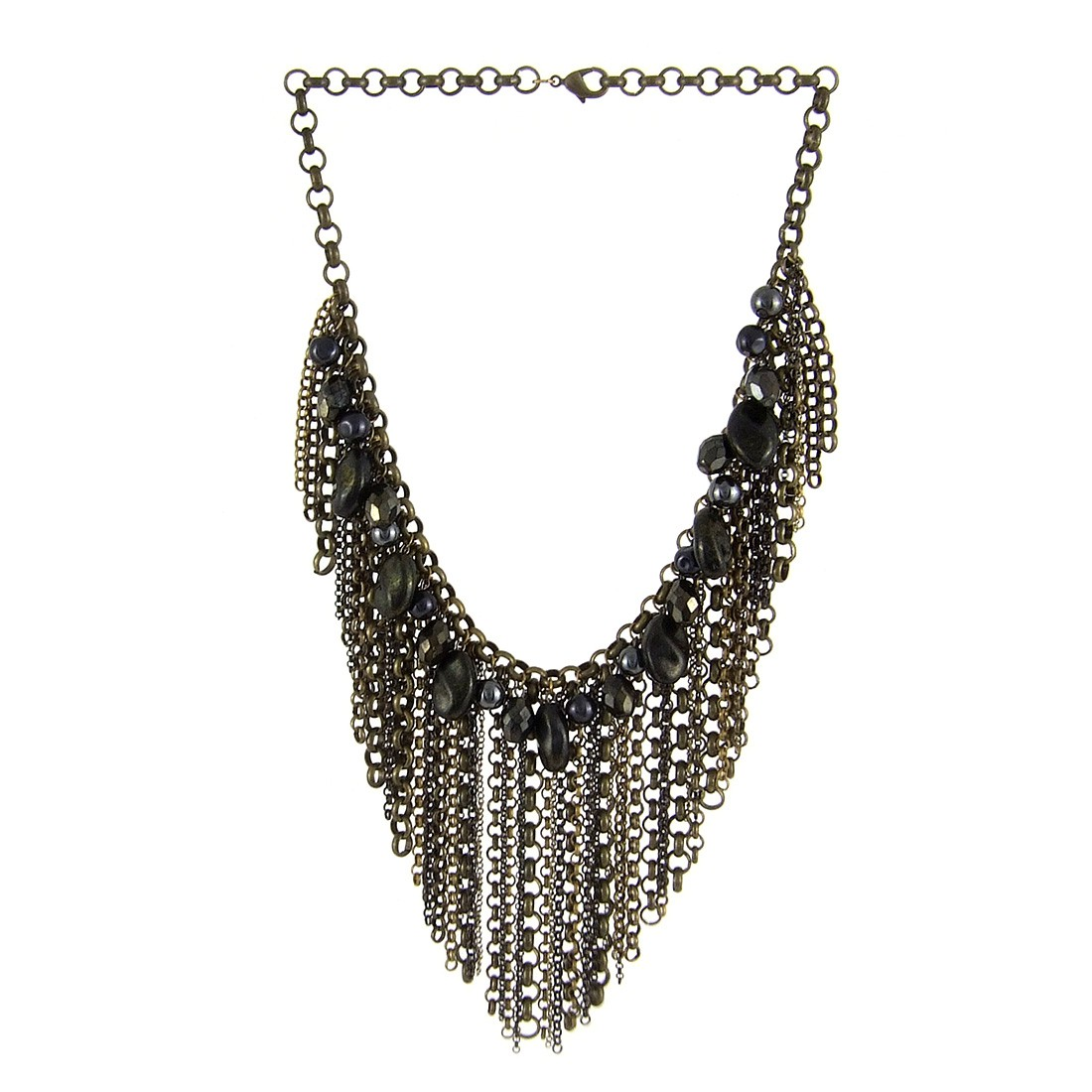 Collier chaine metal