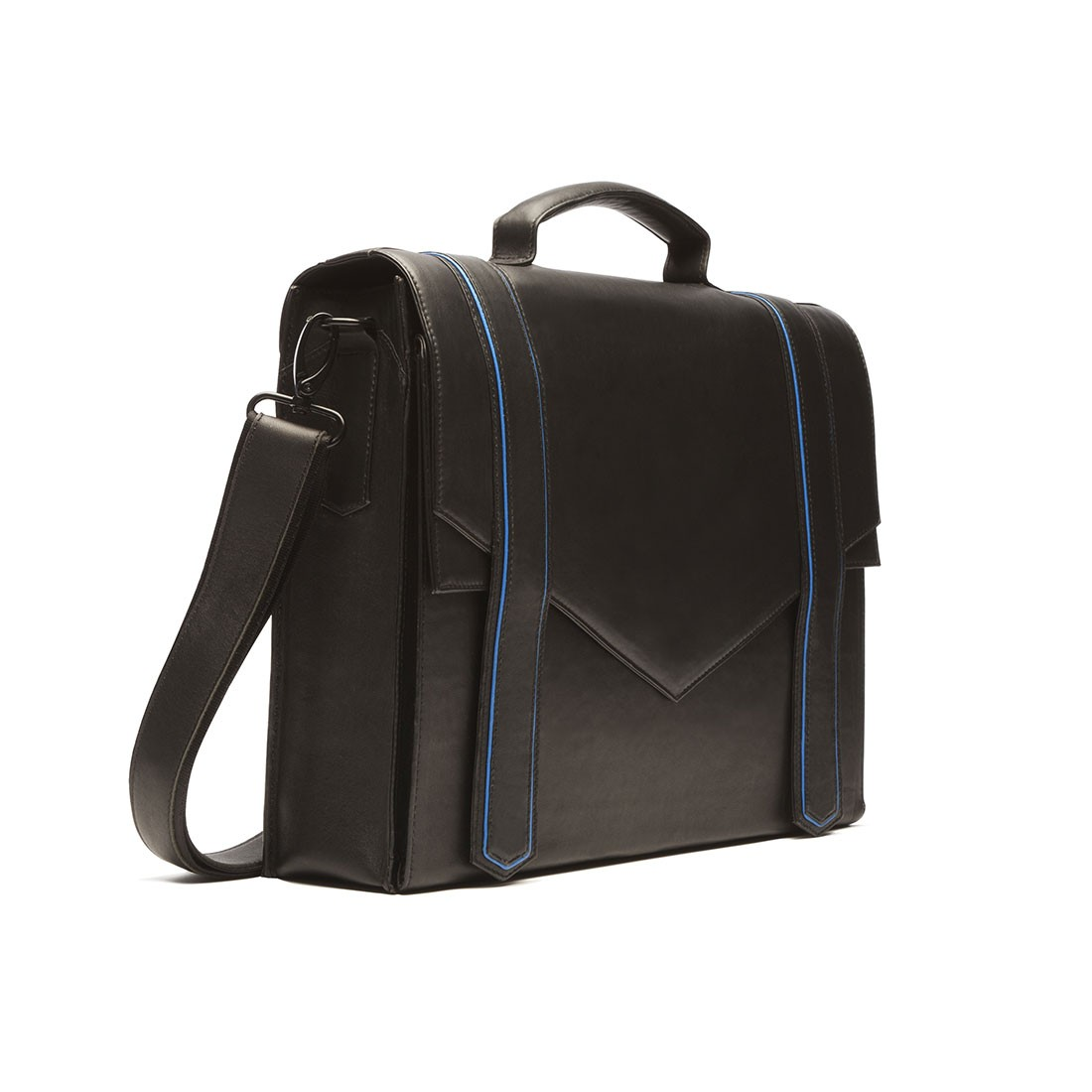 Sac A Main Cartable Cuir Noir : Sac cartable en cuir noir carokhoto sacs ? main les